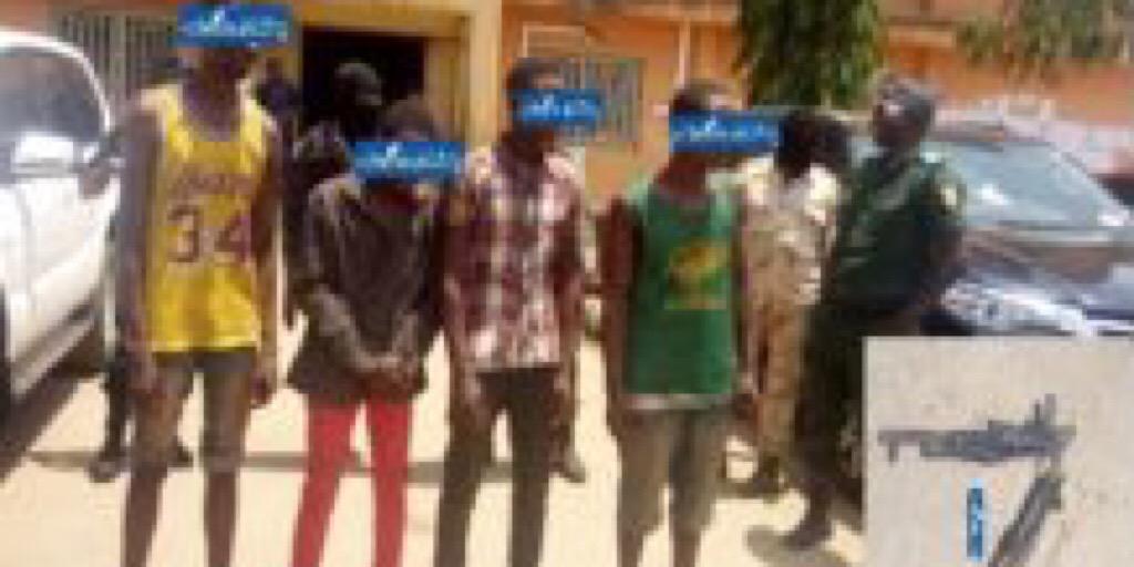 Conakry/Insécurité : 4 individus arrêtés avec des armes de guerre