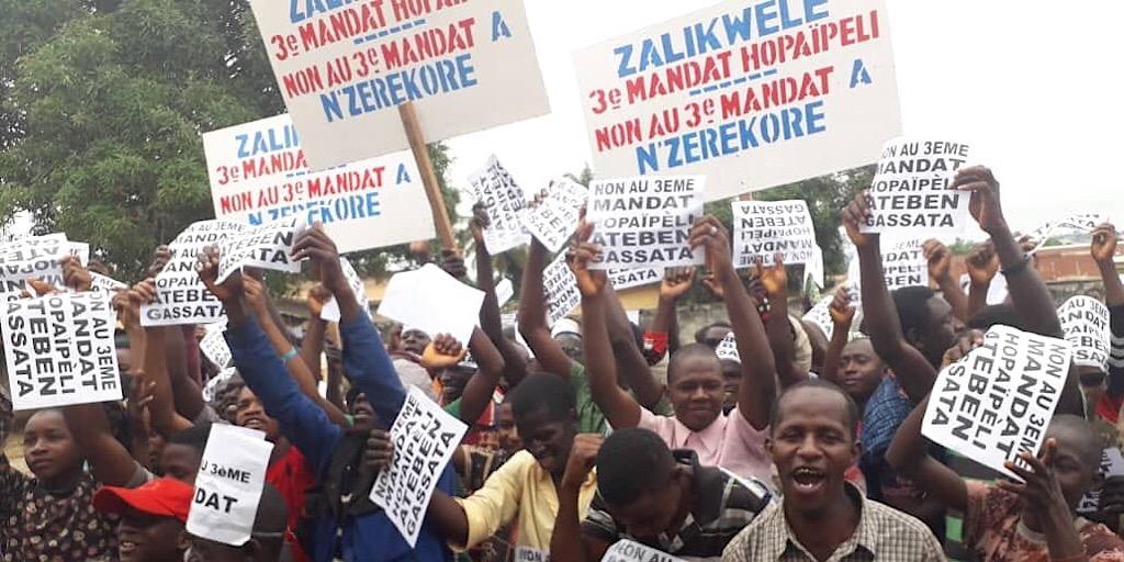 Guinée: Menace de mort contre les membres du FNDC à  N'zerekore