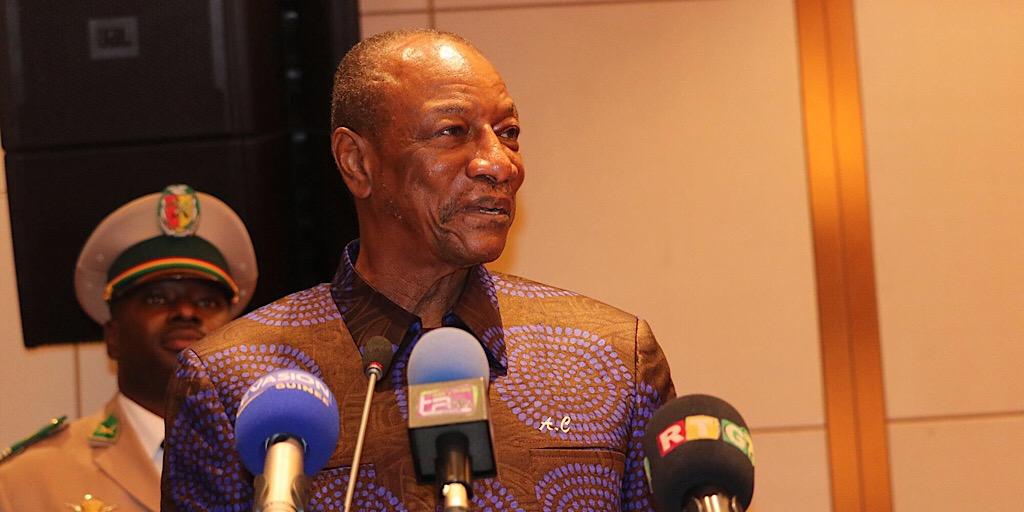 GUINÉE/FORUM DES ENERGIES RENOUVELABLES EN AFRIQUE : LE PRÉSIDENT ALPHA CONDÉ MET L'ACCENT SUR LA TRANSFORMATION DES MATIÈRES PREMIÈRES