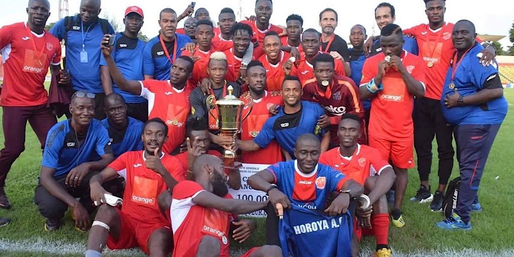 60è Édition de la coupe nationale : Le trophée au Horoya Athletic Club de Conakry !