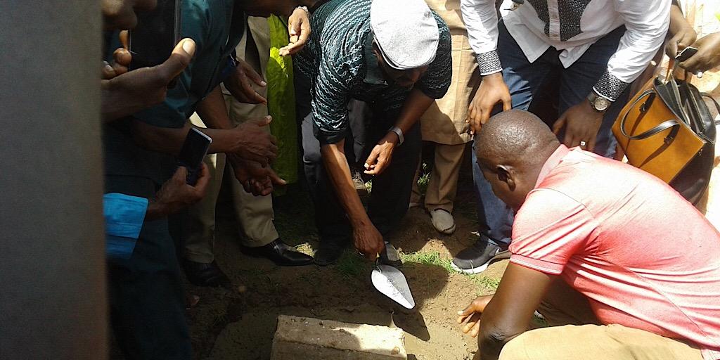 Guinée /Kindia :Les activités d'ANAFIC lancées par les Ministres Cheick Taliby Sylla et Aboubacar Sylla