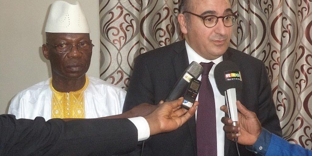 Guinée /MATD : le ministre Bouréma Condé reçoit le Secrétaire d'Etat auprès du ministre de l'Intérieur français
