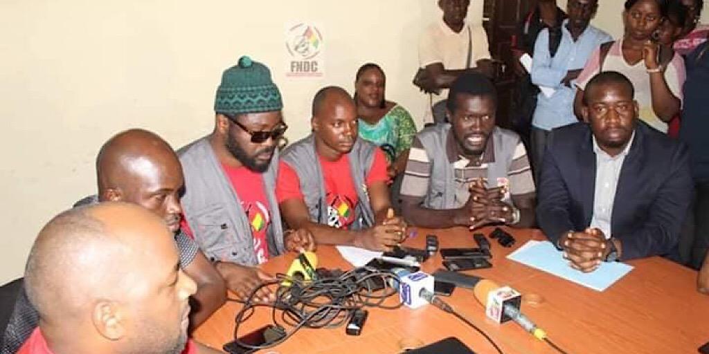 Guinée : Le FNDC appelle le peuple de Guinée à rester mobilisé pour défendre la Constitution