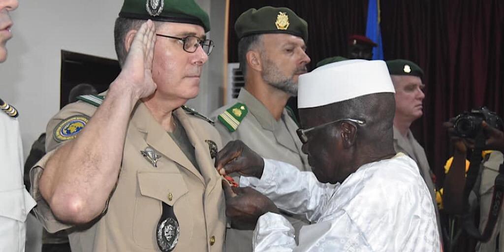 Coopération Militaire : Le Conseiller du HCGN-DJM honoré