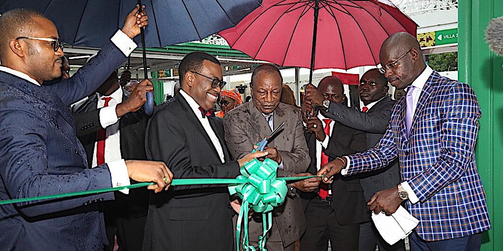 Coopération : Le Président Condé inaugure le Bureau local de la BAD