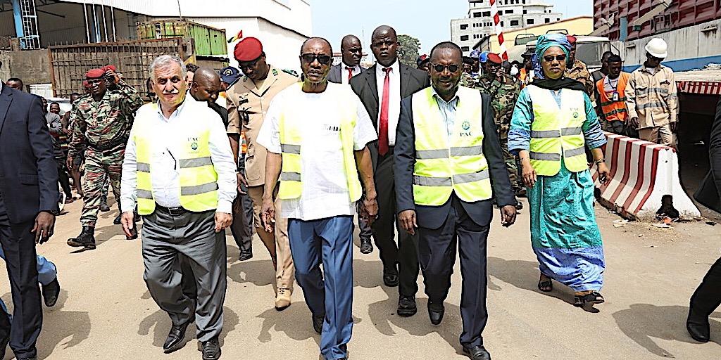 Guinée /Le Président Alpha Condé au Port autonome de Conakry: s'enquérir de l'état d'avancement des travaux
