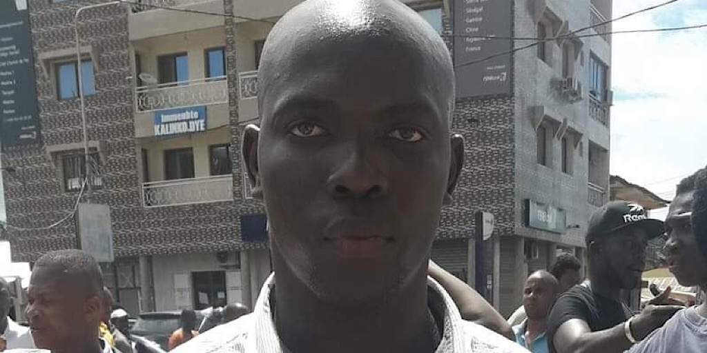 Guinée : L'activiste, FODÉ SALIFOU CAMARA, recherché, reste introuvable.