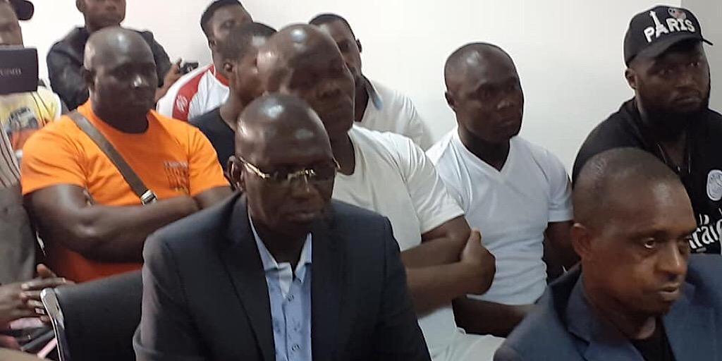 Guinée / FGF :  ANTONIO SOUARÉ reçoit le soutien de l'association des jeunes sportifs leaders de Kaloum.