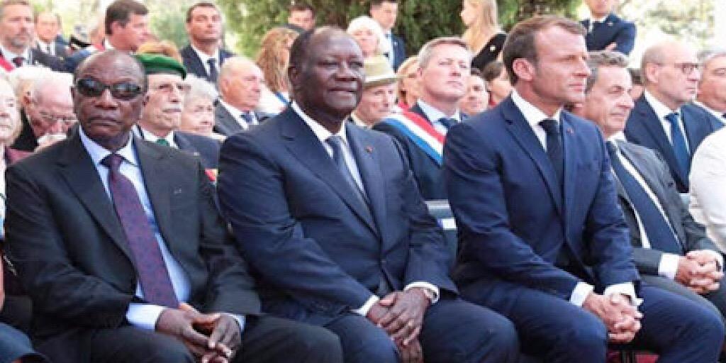 France / Tentative de tripatouillage constitutionnel : Macron dit non à Condé et Ouattara ?
