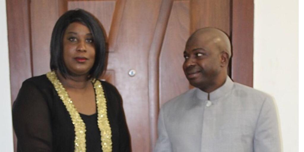 Guinée /MDB-INFO: Le Ministre du Budget reçoit Madame Madeleine Taylor Mendy de la mission Red