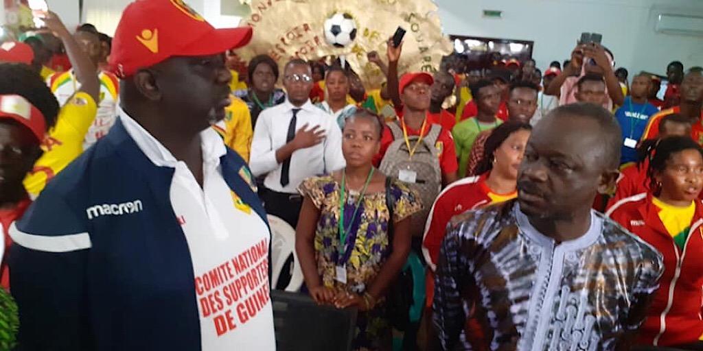 Fédération Guinéenne de Football : Le Comité National des Supporteurs de Guinée chez le Président de la FEGUIFOOT