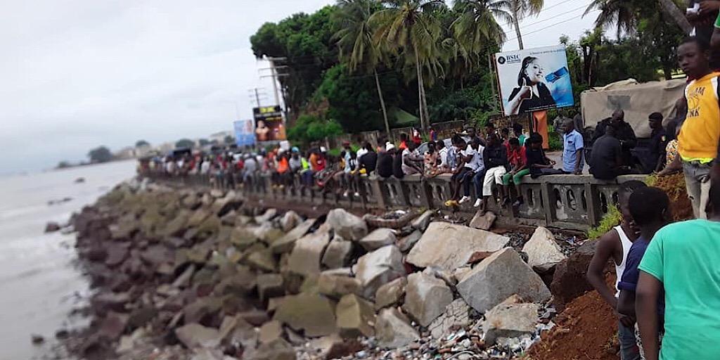 Chute d'un hélicoptère militaire à Conakry : Les recherches se poursuivent…