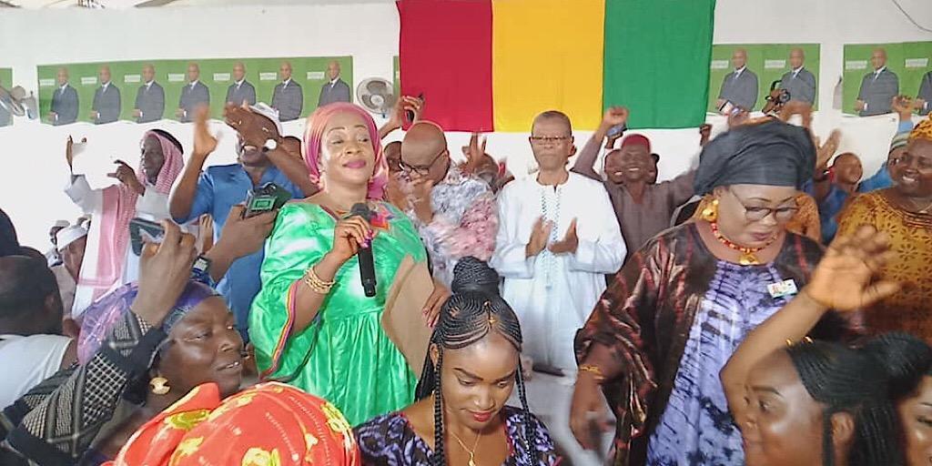Guinée /Politique : ADHÉSION DE L'UNION DES FEMMES DE LA GUINÉE FORESTIÈRE (UFGF) À L'UFDG.