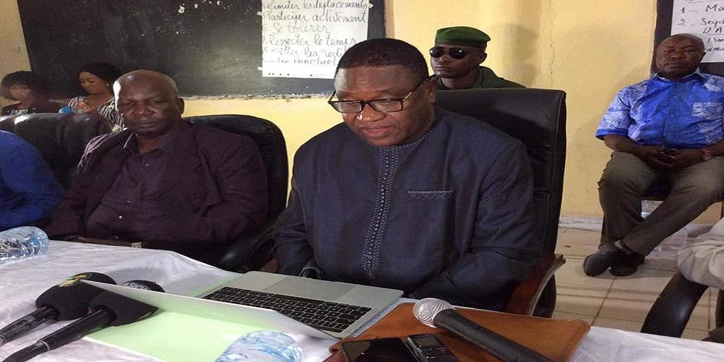 Guinée/Education : le Ministre de l'Education Nationale lance les travaux de l'atelier de formation des enseignants et encadreurs scolaires à Kindia.