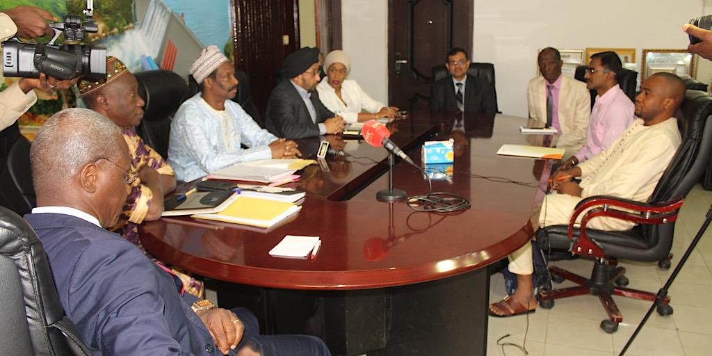 Guinée/Une importante délégation de l'Energie Solaire International chez le Ministre Cheick Taliby Sylla
