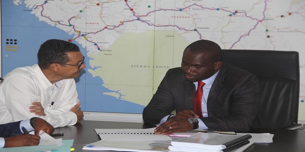 Travaux publics: Le va t'en guerre de Moustapha Naïté contre les entreprises qui ont été incapable de réaliser des travaux de qualité. le cas de OAS.