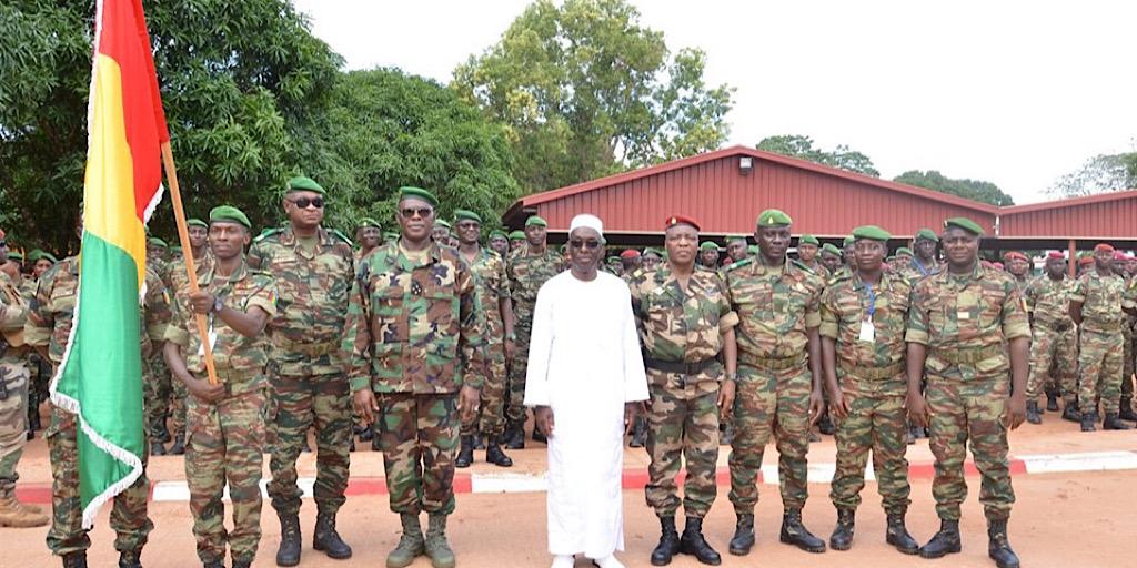 Guinée/Le Chef d'État-major général des Armées informe que les rotations débutent cette nuit à Conakry.