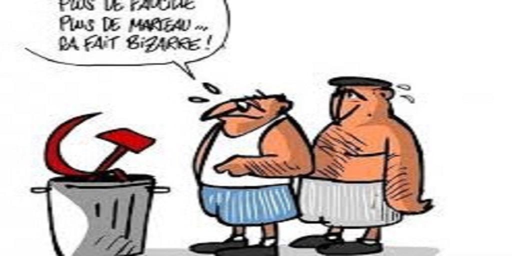 Le Parti Communiste Français, le polisario et Ahmed Gaïd Salah font rire la France