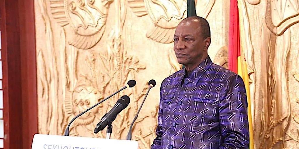 Guinée/Pr Alpha Condé : Comment voulez-vous que je transforme la Guinée en 10 ans?