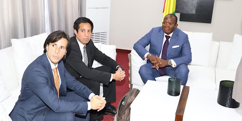 UNE MISSION DE LA CPI REÇUE PAR LE PREMIER MINISTRE IBRAHIMA KASSORY FOFANA