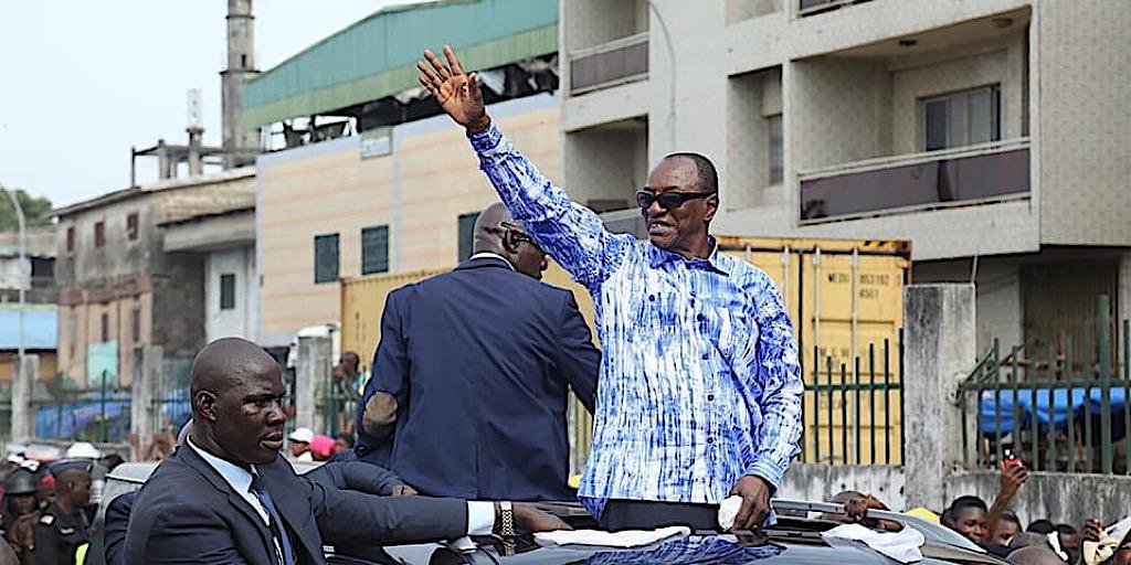 Le Président Alpha Condé de retour à Conakry : Une mobilisation extraordinaire