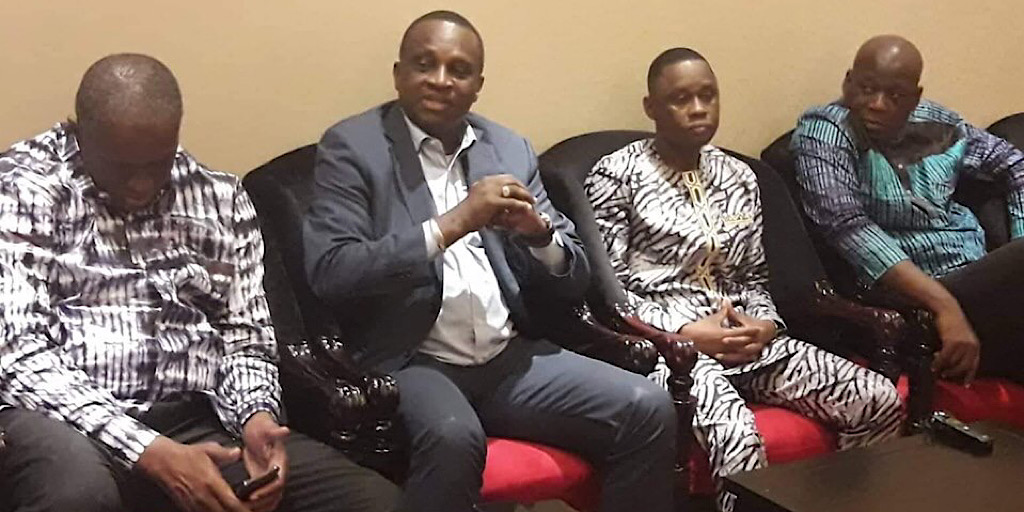 Hôtel du Syli local : Le ministre Bantama Sow, le président Antonio Souaré et leur suite rencontrent les membres du staff et les joueurs