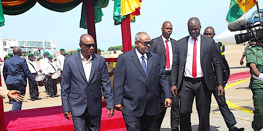 Visite du Président djiboutien à Conakry: d'importants accords signés pour la dynamique d'une coopération bilatérale