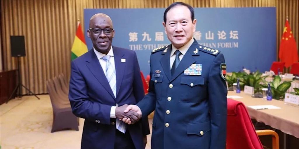 Coopération militaire : Dr. Mohamed Diané décroche 16 millions de dollars de dons de matériels et équipements.