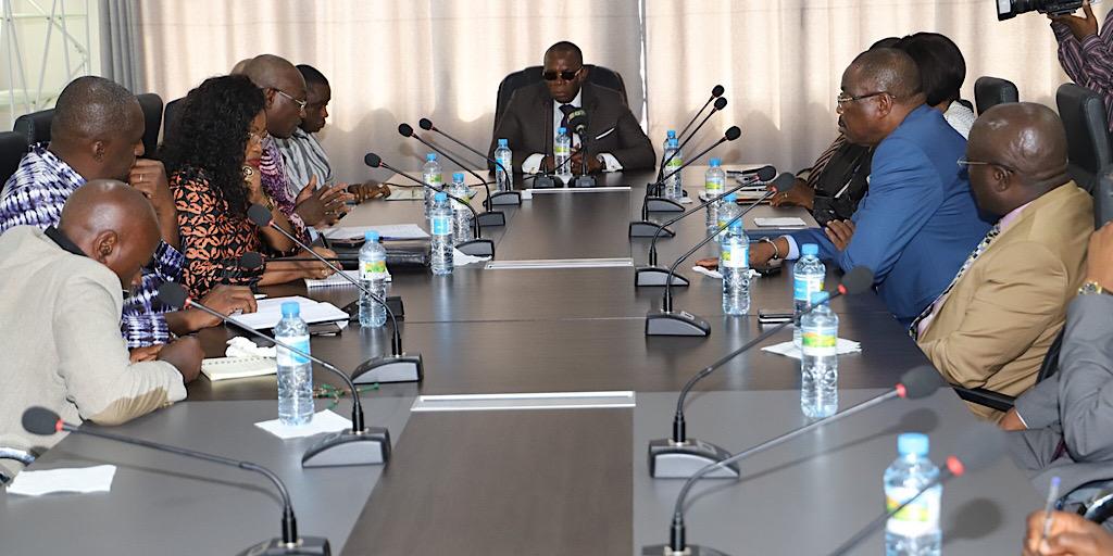 GUINÉE/CAN 2025 : LES MEMBRES DU COCAN CHEZ LE PREMIER MINISTRE