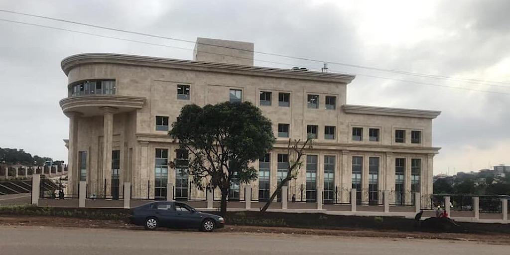 Guinée/Conakry-Ratoma/Koloma : Le nouveau siège du ministère des affaires étrangères et des guinéens de l'étranger