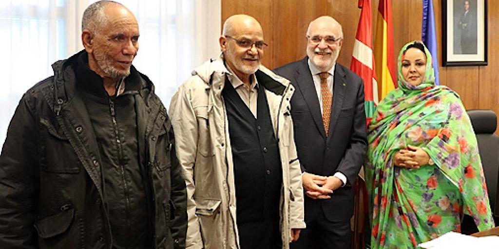 Les violations des droits de l'Homme dans les camps des séquestrés sahraouis marocains de Tindouf dénoncées au Pays Basque espagnol