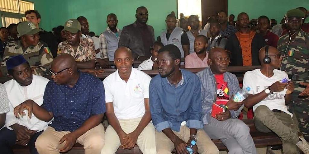 La cour d'Appel de Conakry vient d'accorder ce jeudi 28 novembre 2019 une liberté provisoire aux leaders du Front National pour la Défense de la Cour.