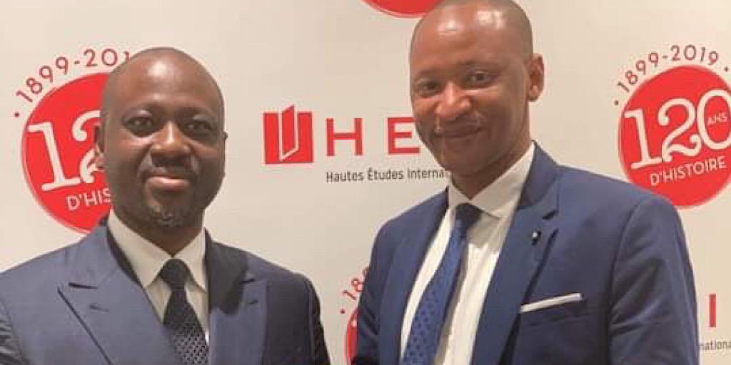 Paris: rencontre entre le journaliste guinéen Ibrahima Diallo et Guillaume Soro