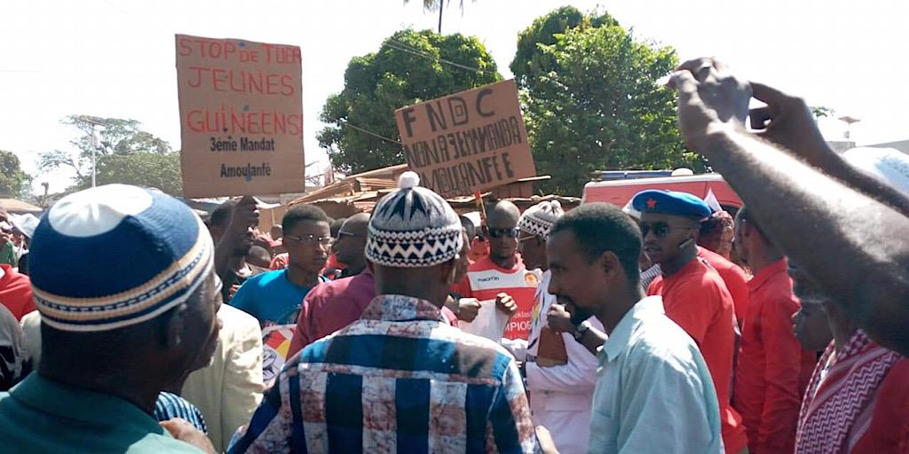 Guinée/Le FNDC en appelle donc à une manifestation sans précédent le jeudi 7 novembre 2019.