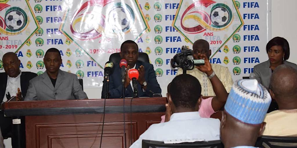 An 60 de la Fédération Guinéenne de Football  Déclaration du Président Mamadou Antonio Souaré