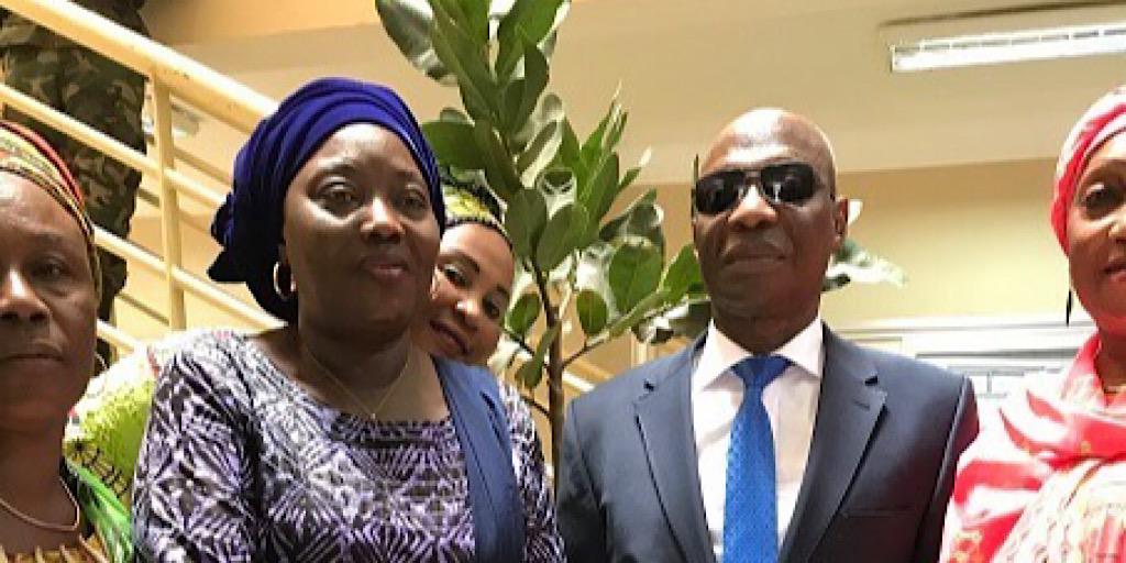 MATD : les conseillères communales de Conakry reçues par le ministre Bouréma Condé