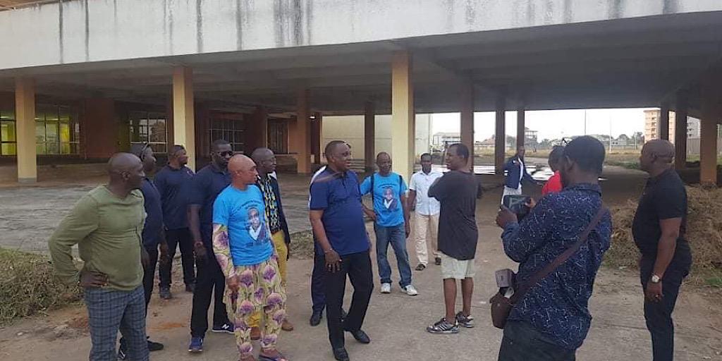 Tournoi de l'UFOA à Conakry : Le président Antonio Souaré sur le terrain !