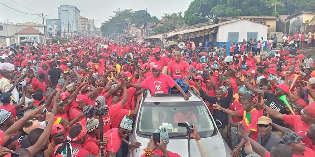 Tribune : Le FNDC a marché encore aujourd'hui et a prouvé qu'il est un mouvement horizontal ouvert à tous les citoyens guineens épris de paix et justice.
