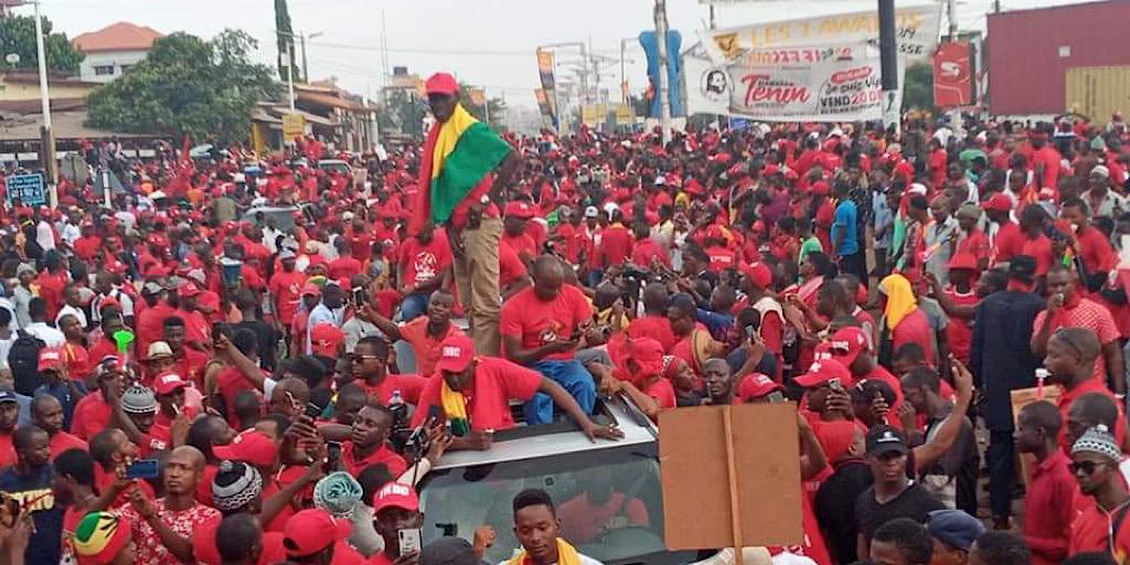 Guinée/Acte 6 du FNDC : «rien ne semble entamer la détermination des guinéens dans leur combat en faveur de l'alternance démocratique'', ( communiqué)
