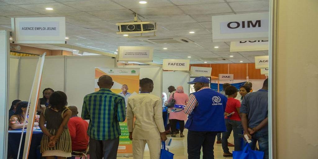 Côte d'Ivoire: Salon international des emplois du web