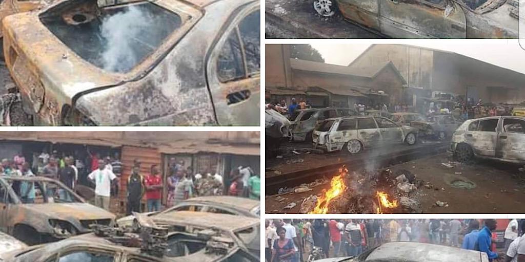 Manifestation du FNDC : Dans les préfectures, des actes de vandalismes ont été enregistrés à Dalaba et Télimélé.