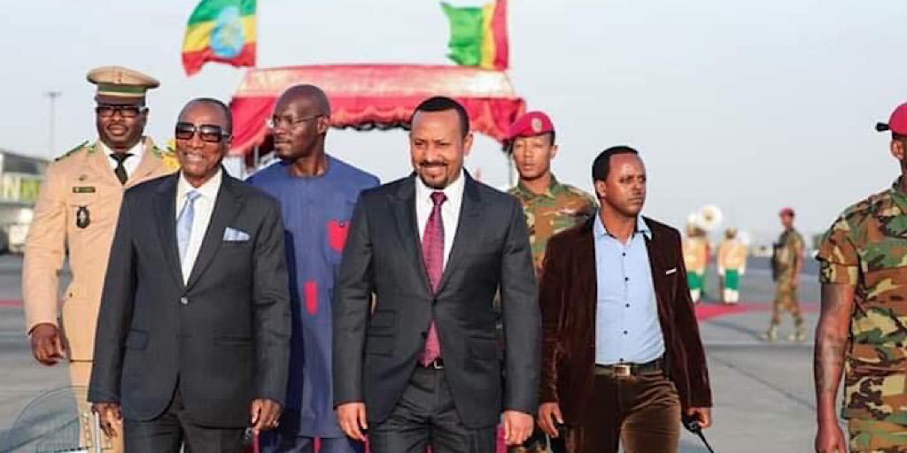 Le PM Éthiopien attendu ce mardi à Conakry (Communiqué)