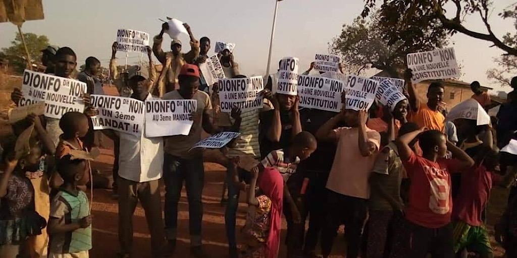 Guinée: Le combat contre le 3ème mandat continue ce mardi 14 janvier.