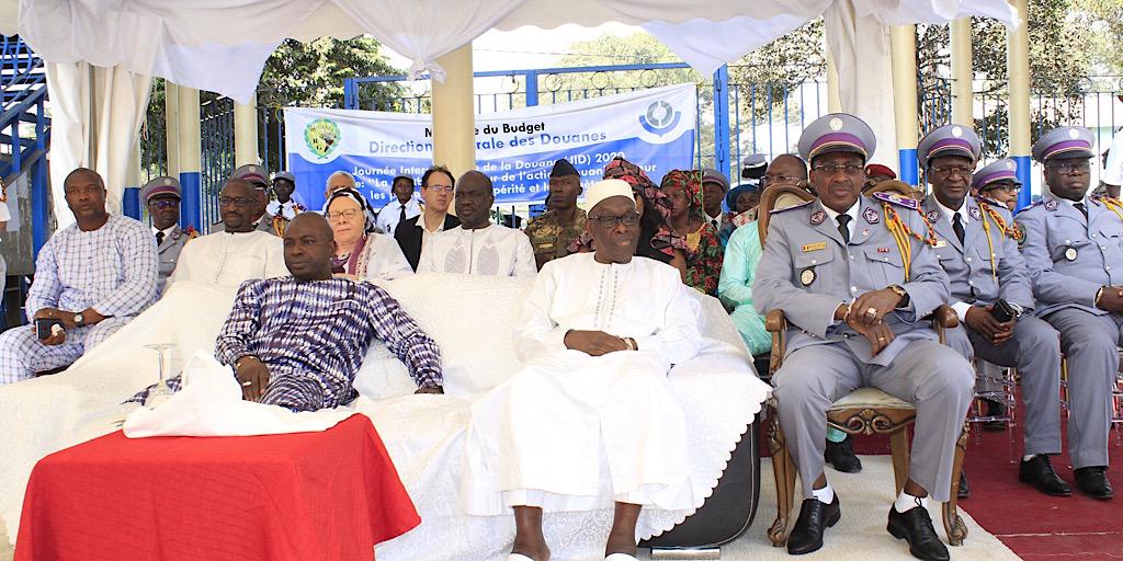 La Guinée célèbre la journée internationale de la douane.