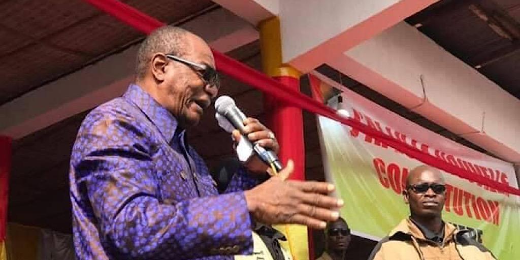 Pr Alpha Condé à Kindia : On n'acceptera pas que quelqu'un fasse la pagaille en Guinée