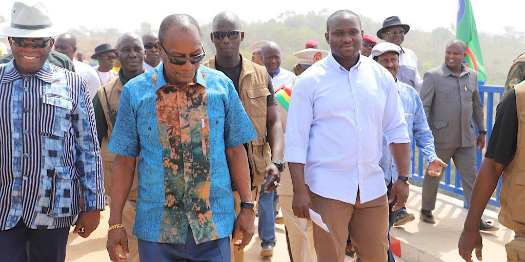 Le Chef de l'Etat a inauguré les ponts sur le fleuve Konkouré