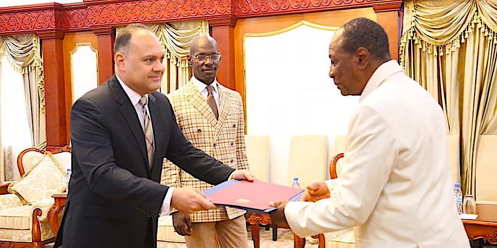 Guinée/Sékhoutouréya : Cinq ambassadeurs présentent leurs lettres de créance