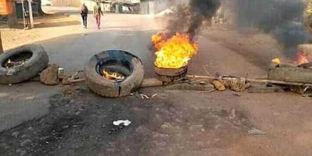FNDC/Labé : Le Poste de la Police de Daka et plusieurs débits de Boissons ont été saccagés et incendiés.