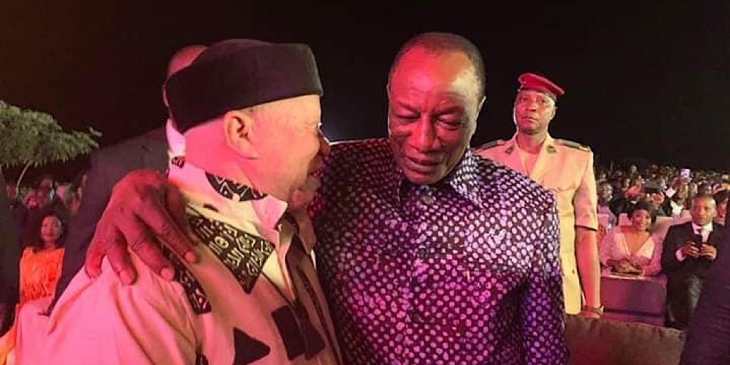 Pr Alpha Condé à la rencontre du chanteur malien : Témoignage de Salif Keita