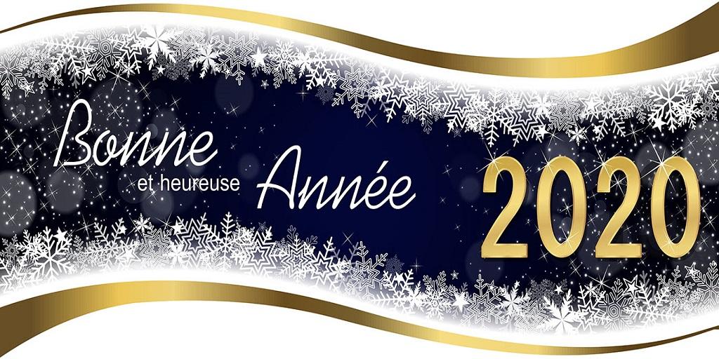 NOUVEL AN Bonne année 2020 à nos lecteurs